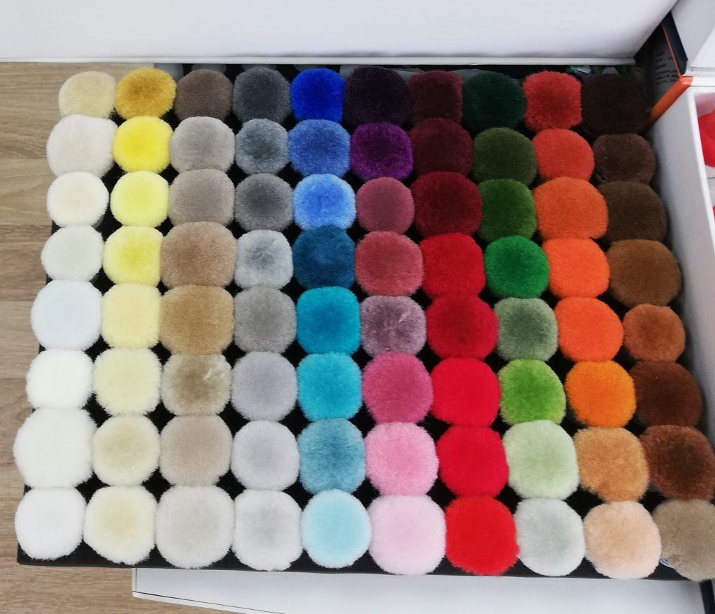 PP Color Cartela